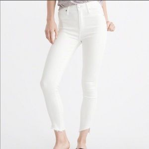 Abercrombie Simon High Rose Ankle Jeans